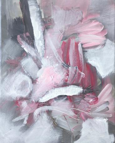 Pink meets gray