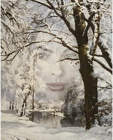 Photomontage Painting #135