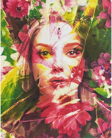 Photomontage Painting #134
