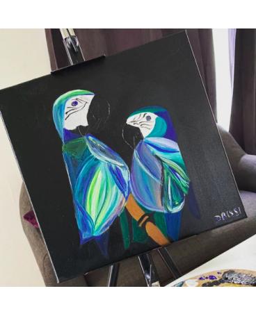 Chmicha's parrots