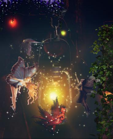 Faeries By Lantern Light