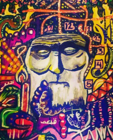 My contemplation of Mar Charbel's solitude
