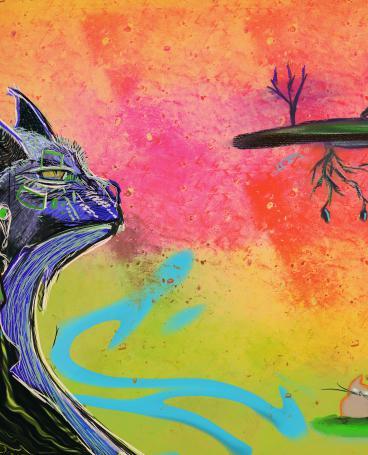 Cat dream 1