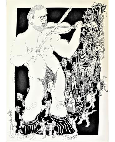 Burial in Castelo de Vide: The Solitary Violinist