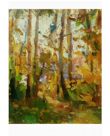 """""""Among the yellow forest"""""""