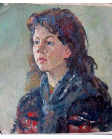 """""""Portrait of a female student"""""""