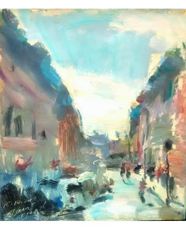 """""""St. John's Street in Krakow"""""""